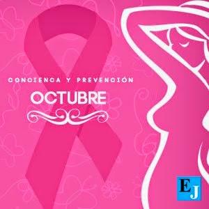 Octubre: mes contra el cáncer de mama.