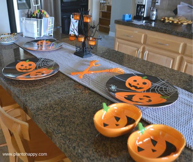 Halloween Buffet Decorations