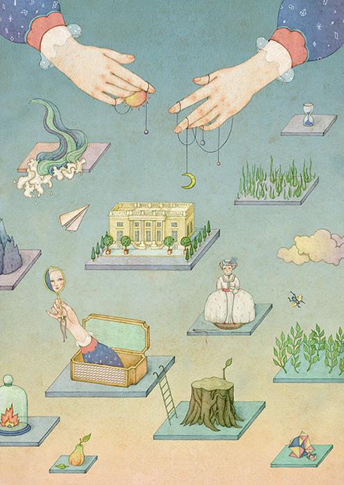 ©Whooli Chen - ilustración Editorial