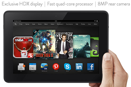 Amazon HDX tablet