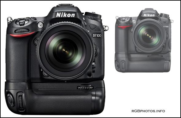 Fotografia della Nikon D7100 a confronto con la Nikon D7000