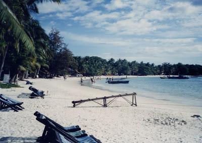Koh Samet beach in Thailand