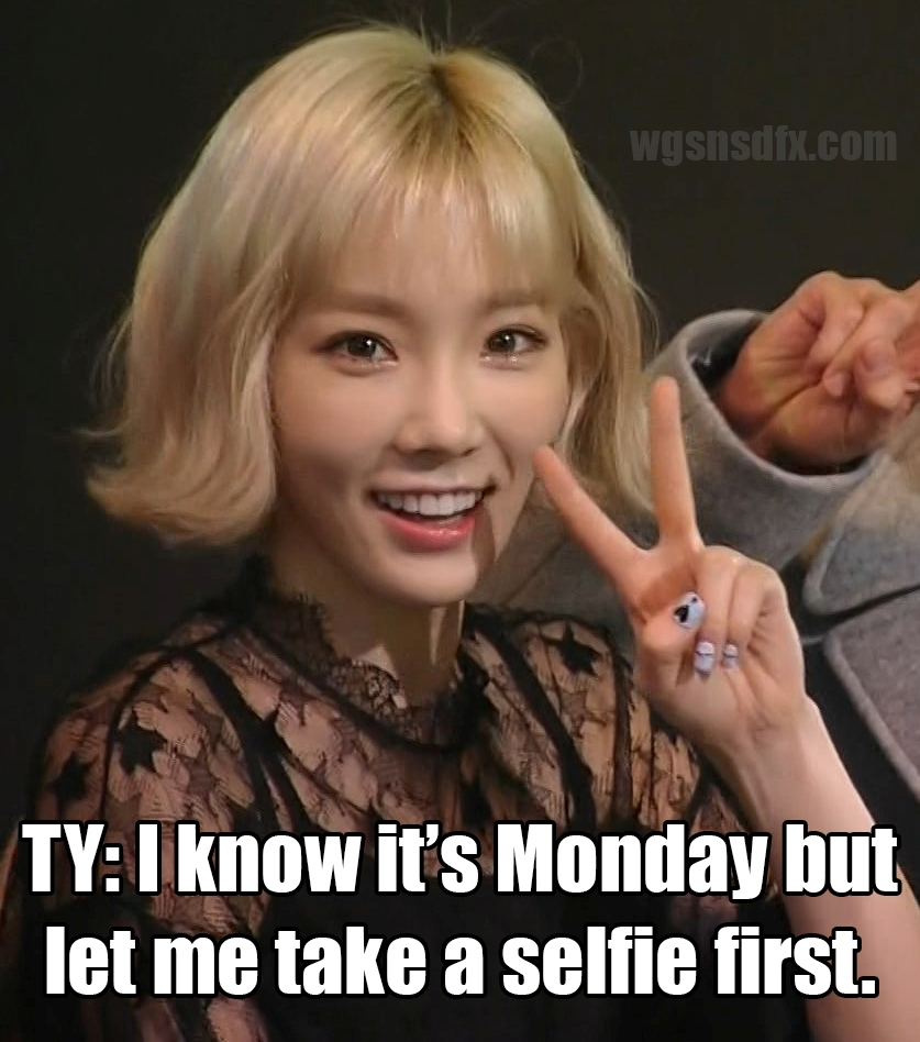 snsd%2Bmeme%2Btaeyeon monday memes with snsd, f(x), and wonder girls wonderful generation