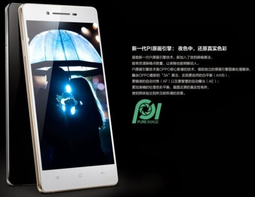 L'azienda cinese Oppo annuncia il nuovo smartphone da 5 pollici R1