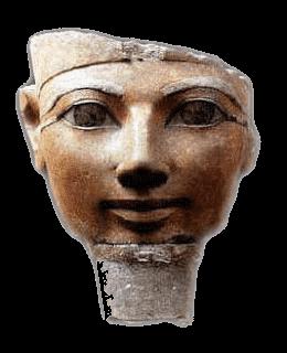 La reina Hatshepsout. Organizó una expedición al país de Pount con el fin de obtener el misterioso Anti. Lacasamundo.com