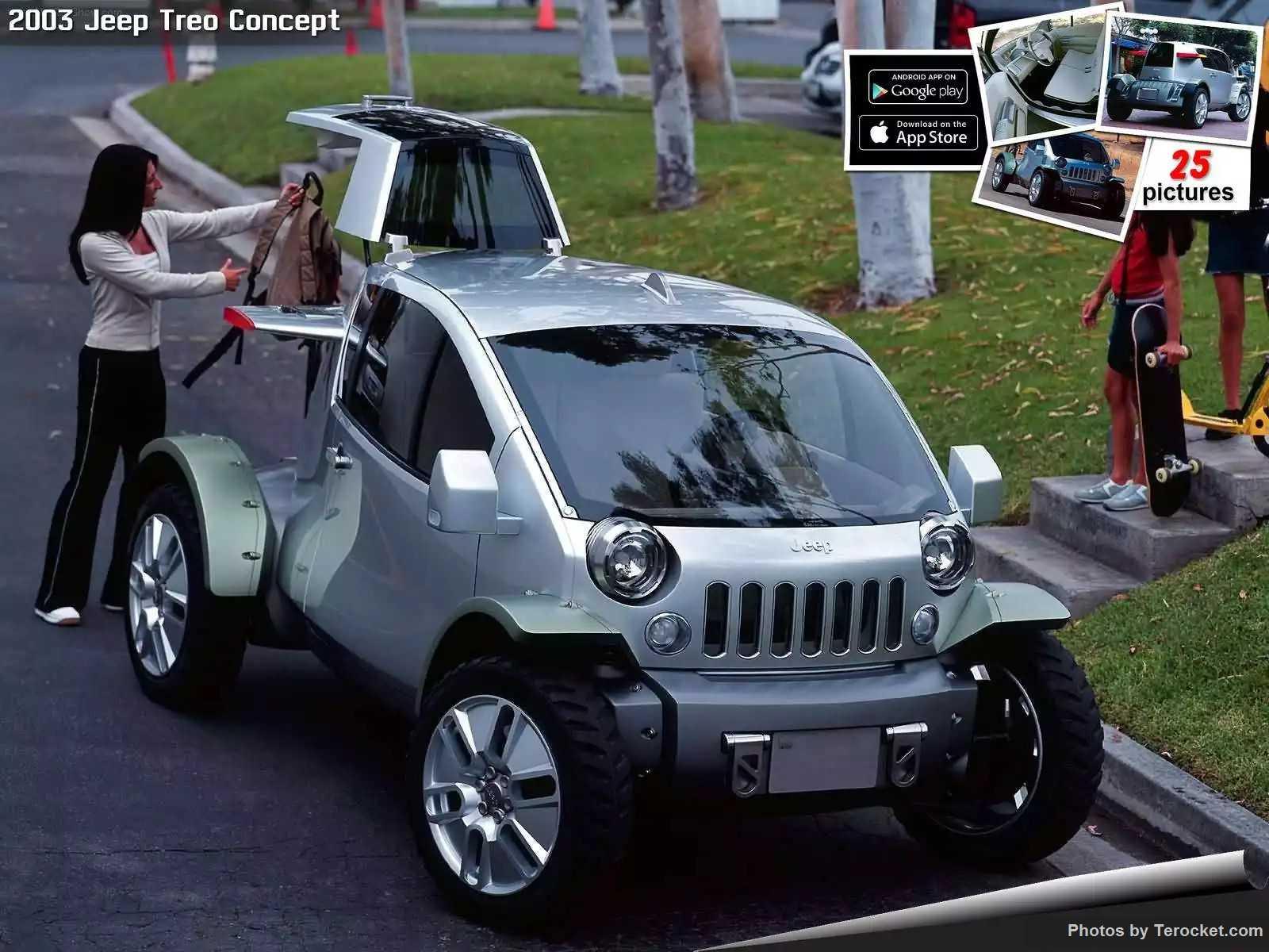 Hình ảnh xe ô tô Jeep Treo Concept 2003 & nội ngoại thất