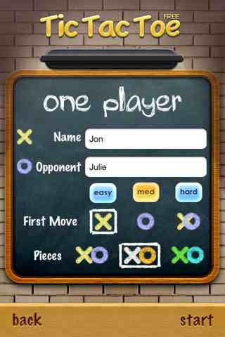 Tic Tac Toe, iPhone Kids Games Free Download, iPhone Applications