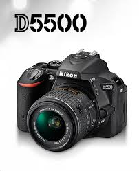 Nikon D5500 1546 Black 24.2 MP Digital SLR Camera