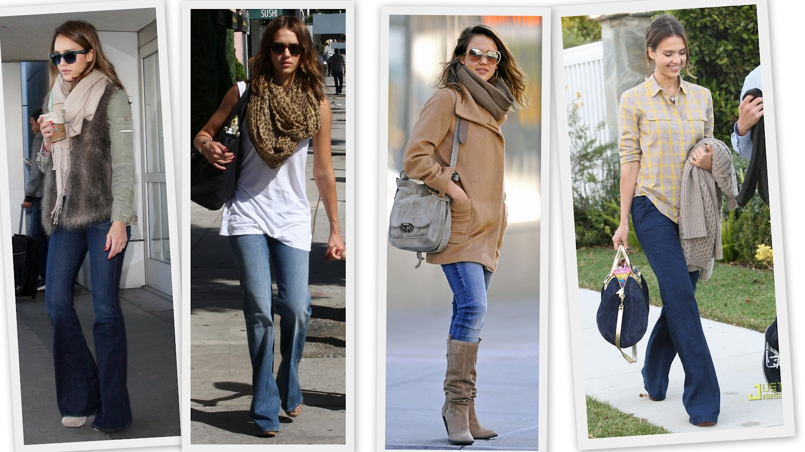 Mujeres Con Estilo Unico Jessica Alba Mejor Estilo Jeans