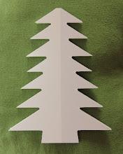 Albero di Natale bianco 1