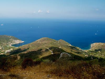 Elba: baie di Nisporto e Nisportino
