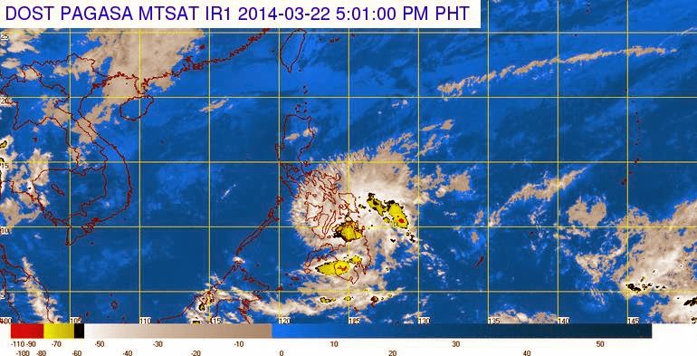 "Tropical Depression ""Caloy"" weakens into LPA"