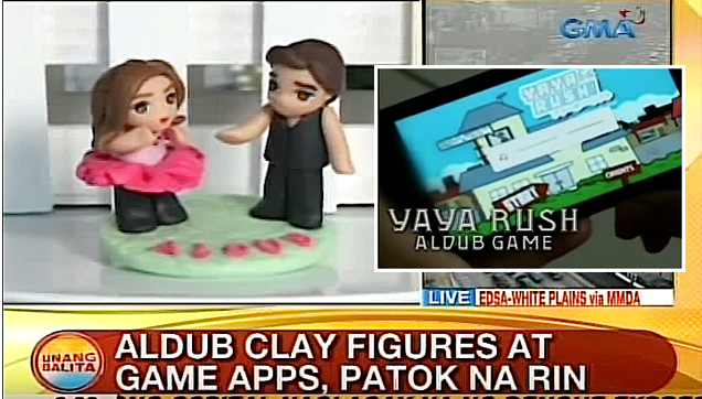 ALDUB Clay Figures and Game Apps