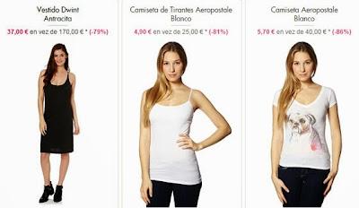 Camisetas y vestido