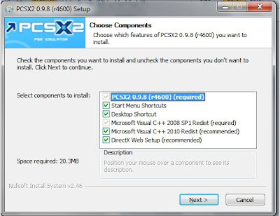 thread software emulation pcsx