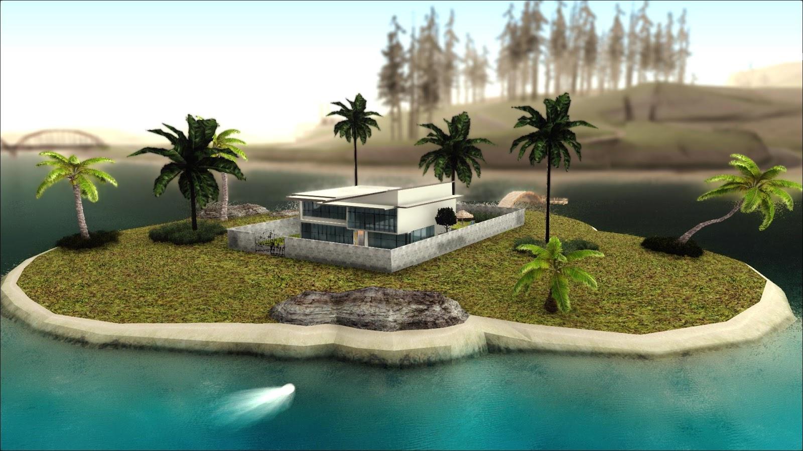 Diego4Fun Zone MAPDiegoforfuns Modern House MOD