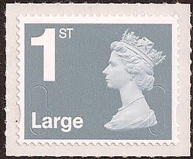 Jubilee Large Letter Stamp