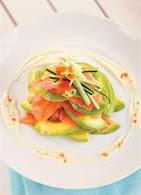 Salad Salmon Saus Wasabi