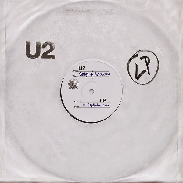 U2's Songs of Innocence Album Art