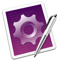 The TextMate logo