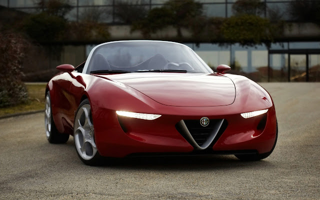 Alfa Romeo Super Car Wallpapers