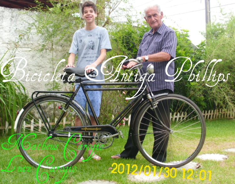 Bicicleta Antiga Phillips