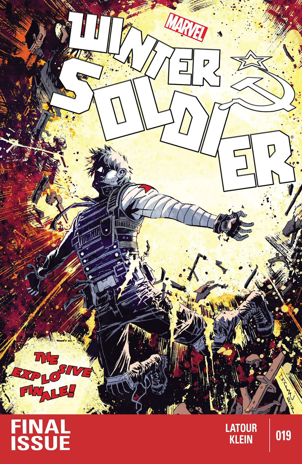 Winter Soldier issue 19 - Page 1