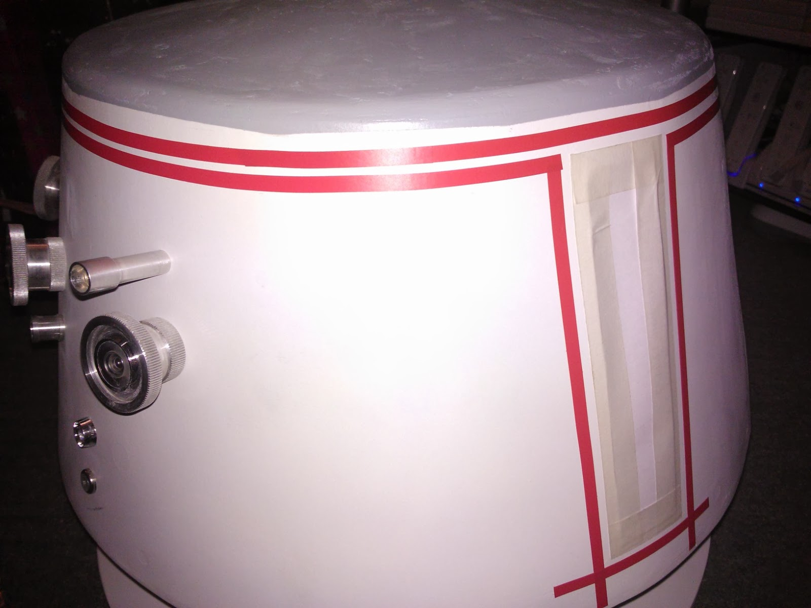 R5D4 pic of masked off dome for pin stripes