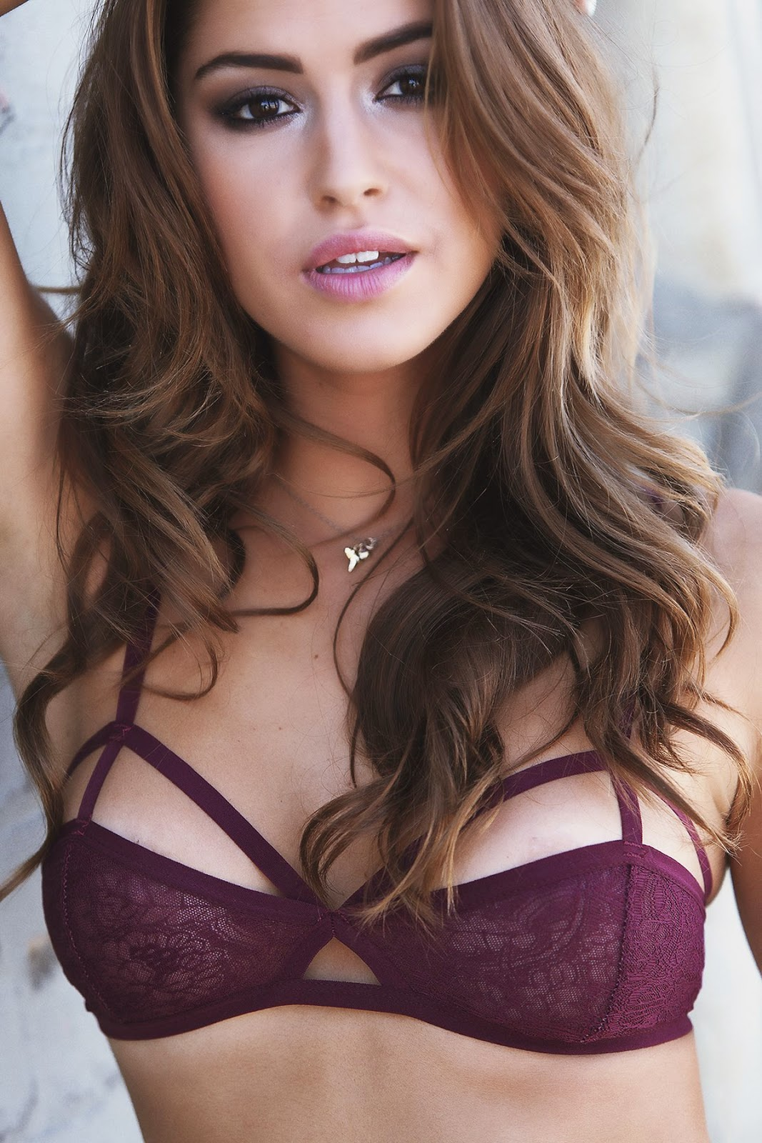 Jehane Gigi Paris strips to lingerie for new photoshoot