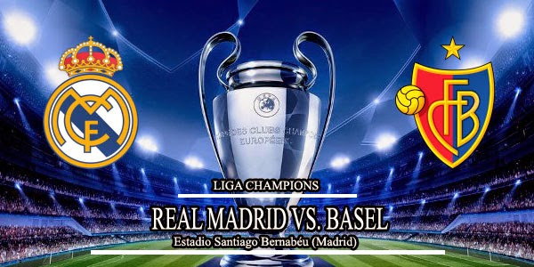 Real Madrid vs Basel Liga Champions 2014-2015