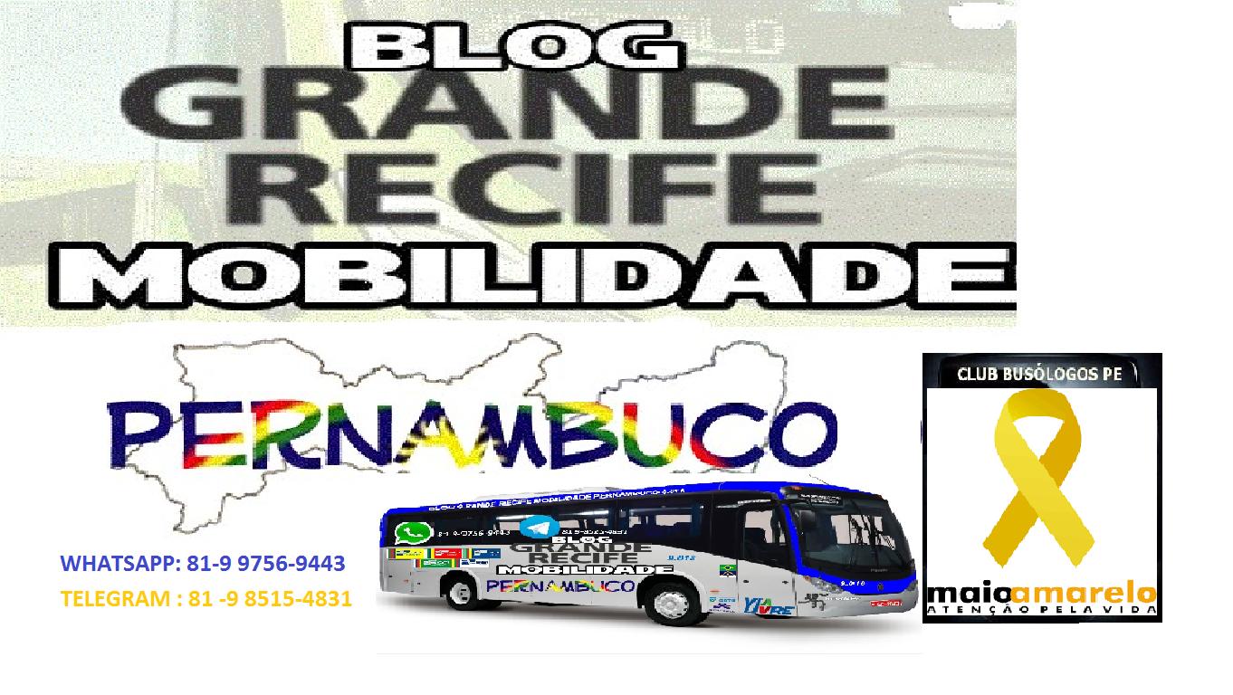 Blog Grande Recife Mobilidade Pe