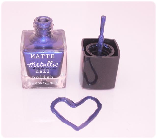 matte mettalic