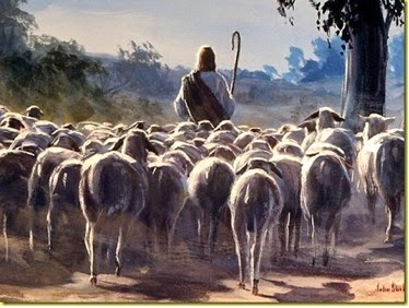John 10:27   My sheep hear my voice, and I know them, and they follow me:
