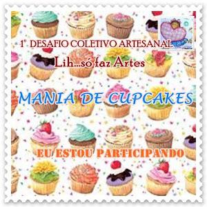 1º desafio Mania de Cupcakes