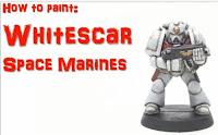cicatrices blancas de los Marines Espaciales