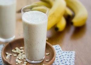 minuman untuk diet pisang oatmeal