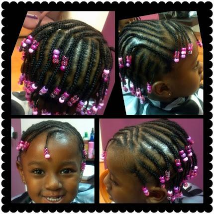 Lil Girl Corn Rowz