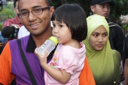 Wan Aishah Selamat Kembali Oleh Ibu Bapa
