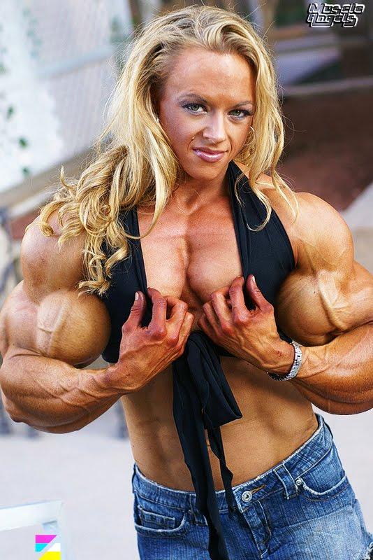 Body building nude women photo 19