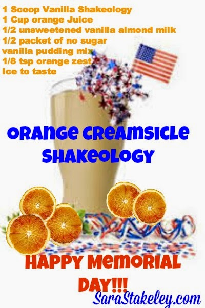 Orange Creamsicle Shakeology
