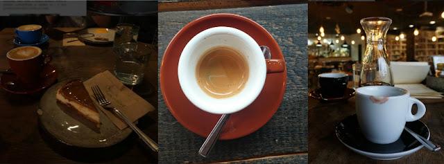Káva a dort v Urban House, Chemex v Urban space