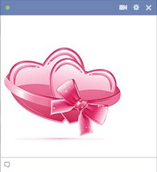 Pink Valentine Hearts