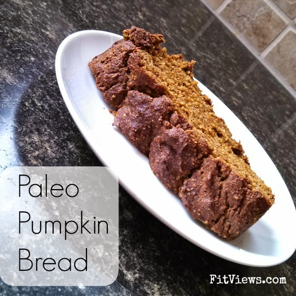 FitViews: Paleo Pumpkin Bread Recipe