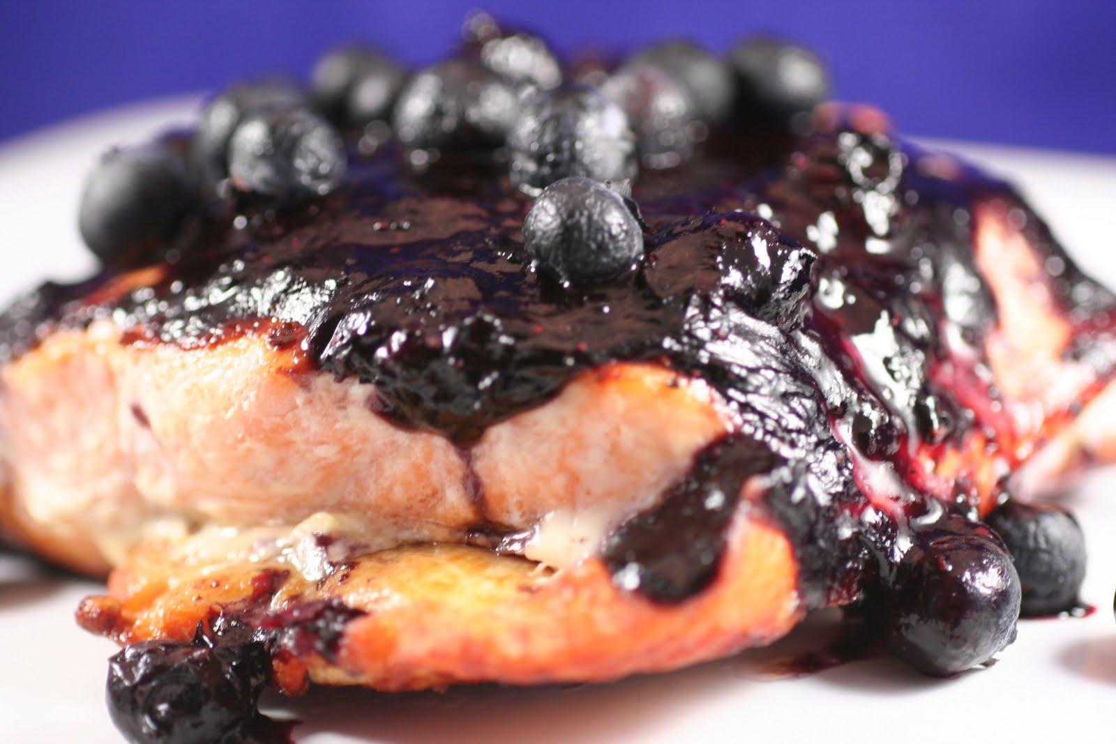 Cedar Salmon With Berry Sauce Recipes — Dishmaps