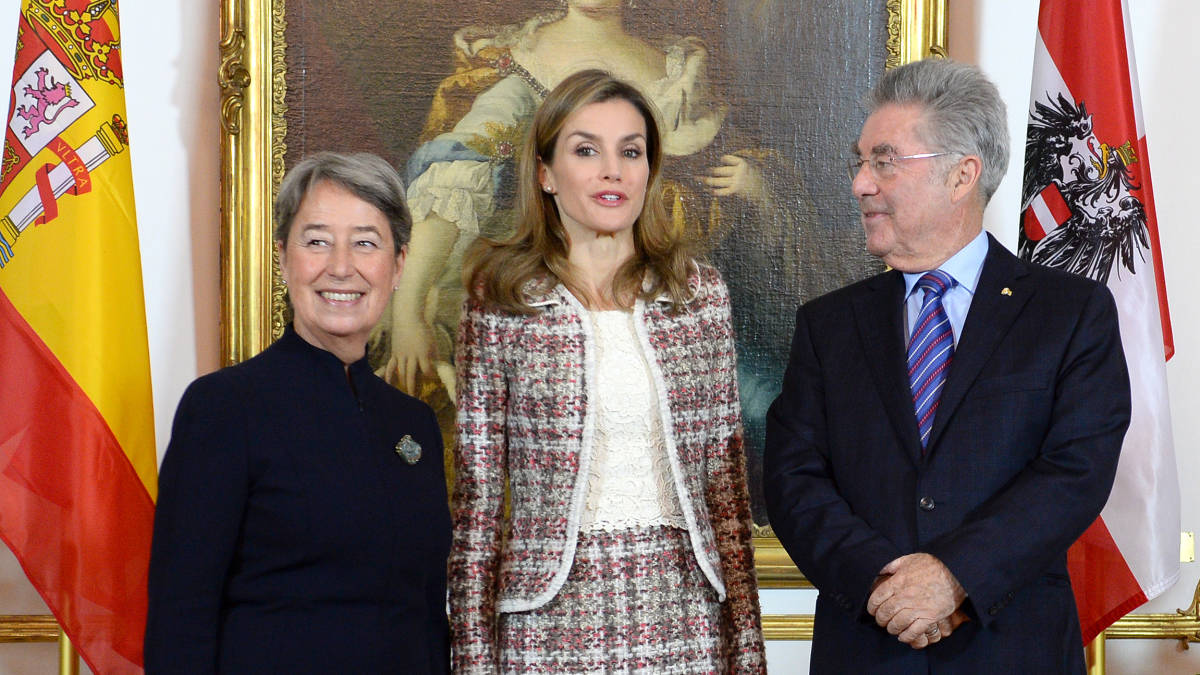 Spanish Queen Letizia open the Velázquez exhibition Kunsthistorisches Museum
