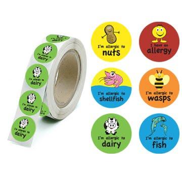 Avoiding milk blog allergy stickers - Stickers protection cuisine ...