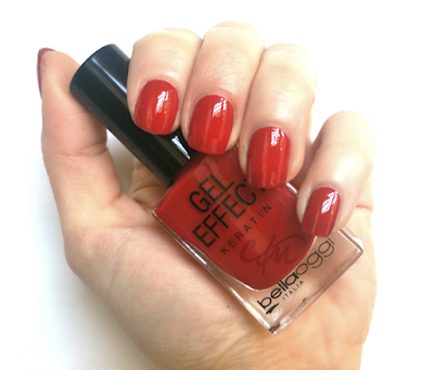 NOTD: Smalto Gel Effect Keratin 06 Cherry Passion - bellaoggi