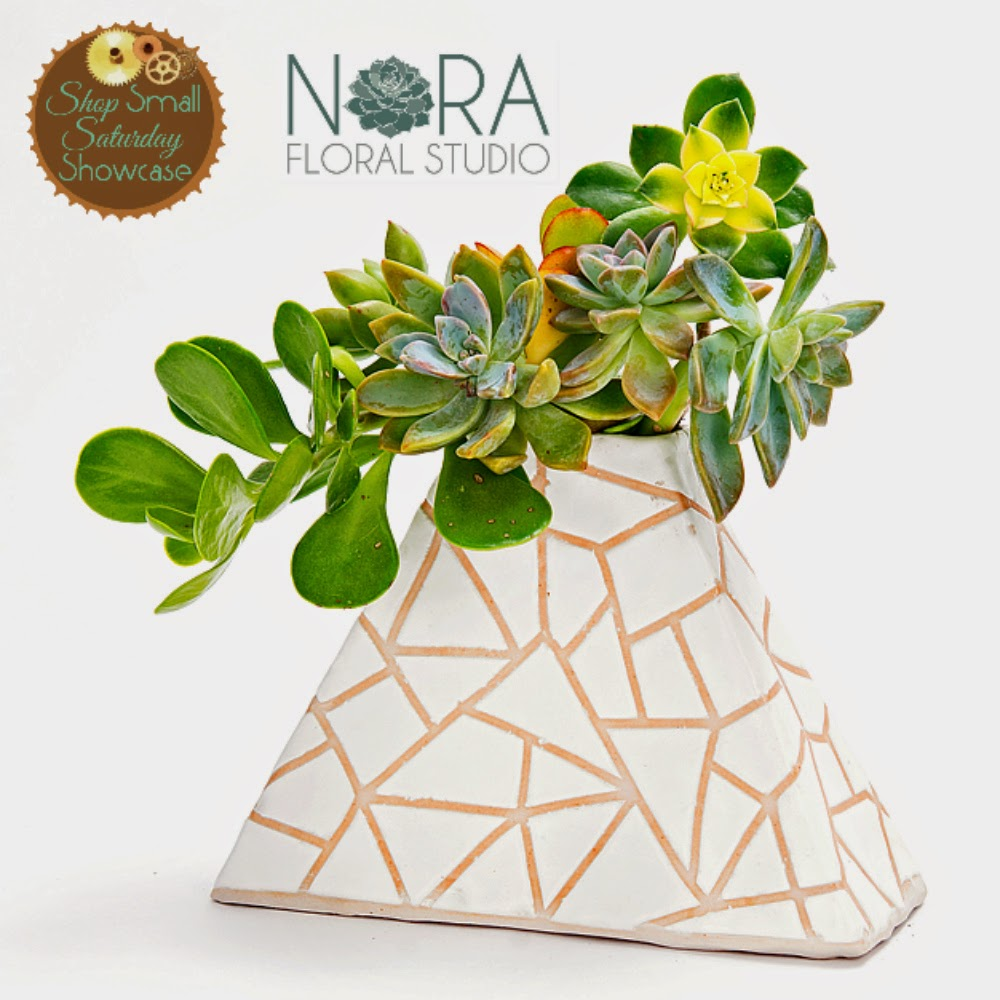 Nora Floral Studio feature & GIVEAWAY on Shop Small Saturday Showcase at Diane's Vintage Zest!