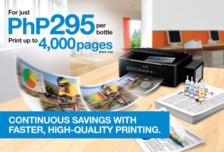 epson new ink tank printer