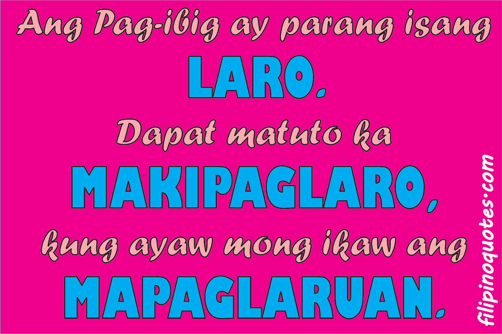 Tagalog Love Quotes May 2012